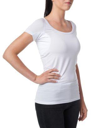 Gobi dámské triko proti pocení pod košili bílé